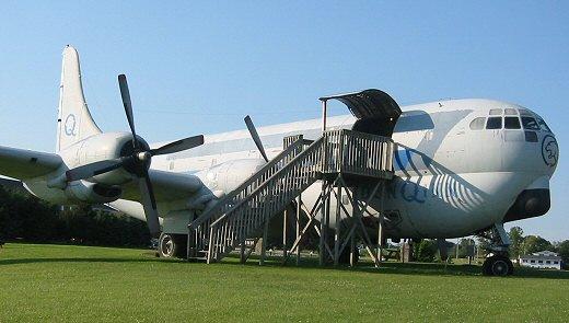 Boeing C-97G Stratofreighter at Dodgeville