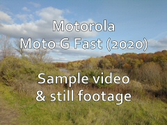 Motorola Moto G Fast (2020) - Sample video & still footage